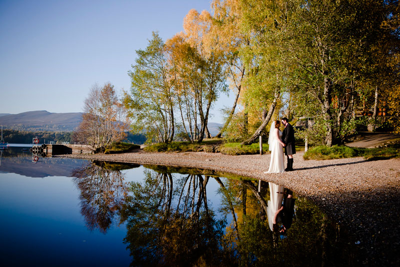 Lochside Wedding Photography Scotland