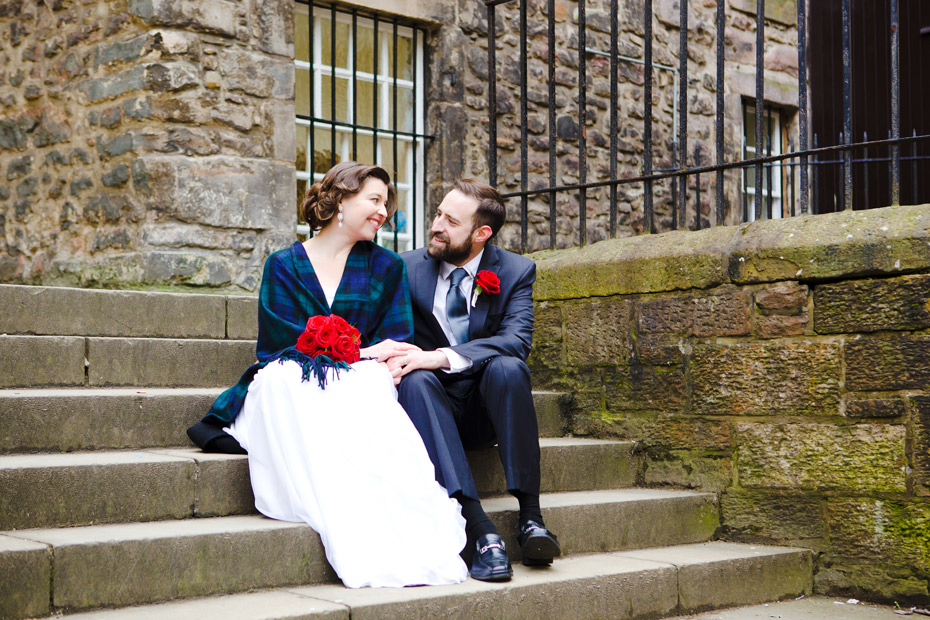 American Elopement Edinburgh